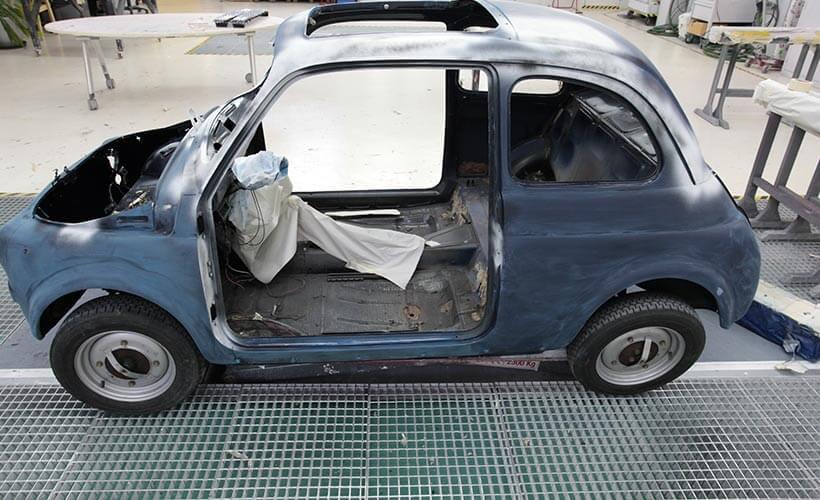 Fiat 500 F Restoration