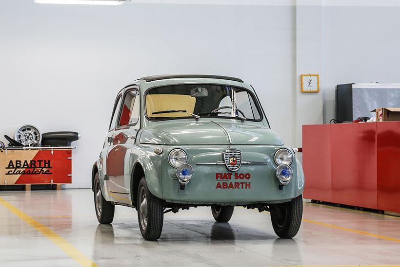 Fiat Abarth Nuova 500 Record